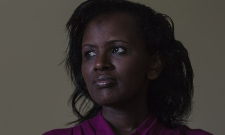 Sophie Musabe Masereka, a survivor of the Rwandan genocide