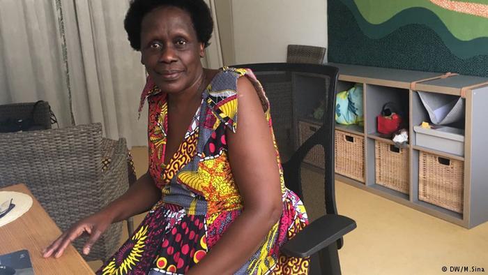 Esther Mujawayo, Photo/DW