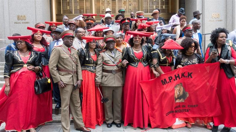 Herero seeking justice over genocide after 110 years.