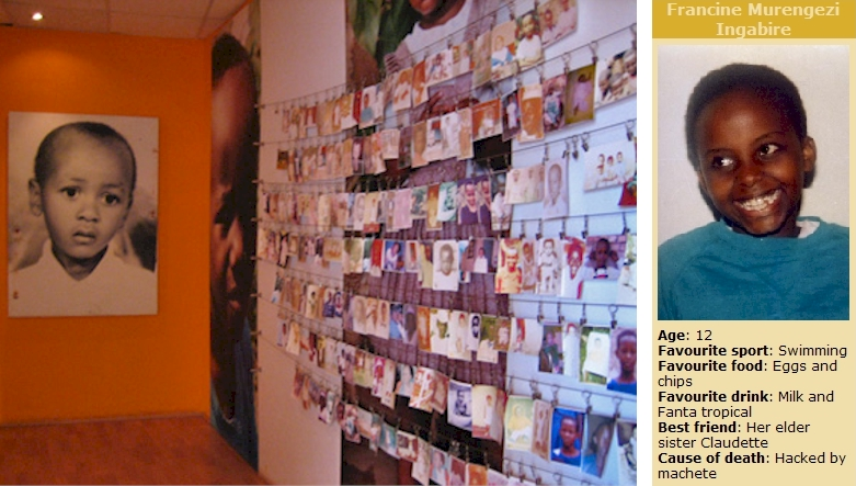Kigali Memorial Centre children